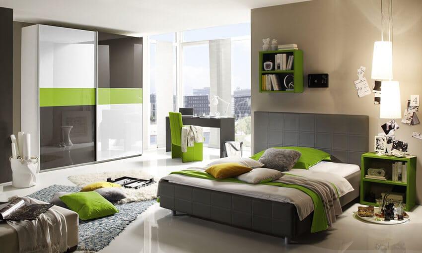 jugendzimmer f r jungs komplett. Black Bedroom Furniture Sets. Home Design Ideas